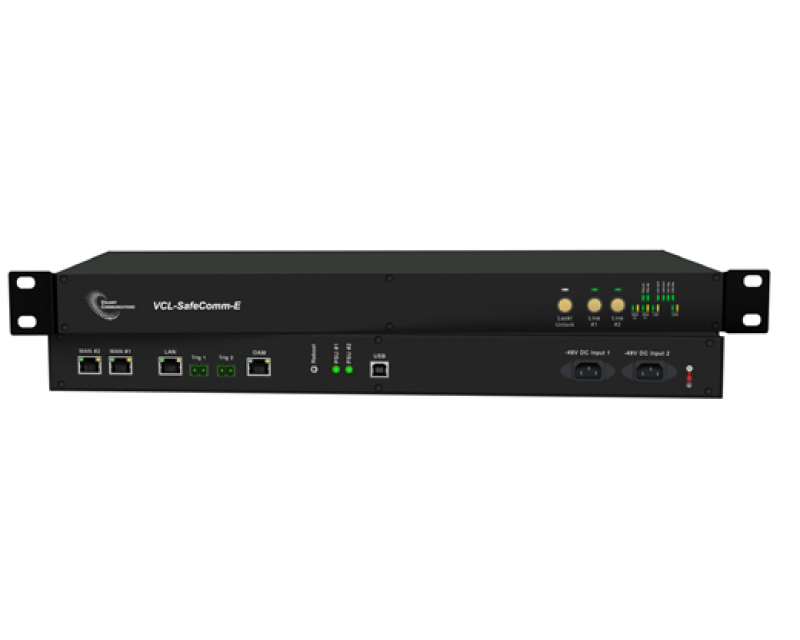 VCL-Safecomm-EF, 1+1 Automatic Ethernet Failover Switch