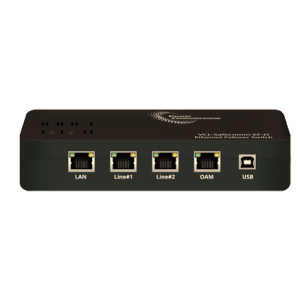 VCL-Safecomm-EF-D, 1+1 Automatic Ethernet Failover Switch